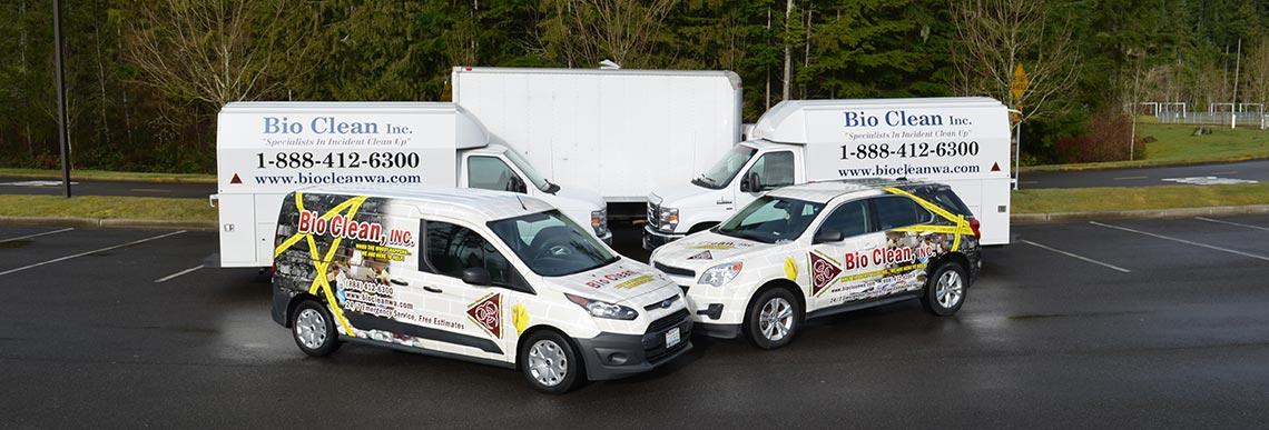 Disaster Response in Olympia WA, Renton, Bellingham